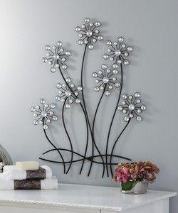 Metal Flower Wall Art Flower Wall Decor Metal Tree Wall Art Metal Tree