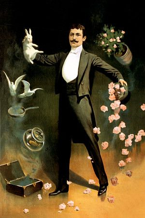 World's clumsiest magician. (Zan Zig)