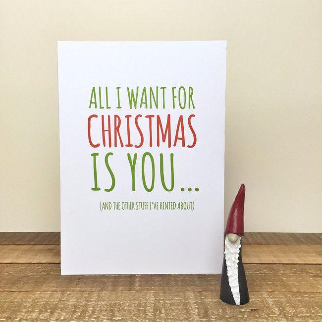 Christmas Card idea for Love