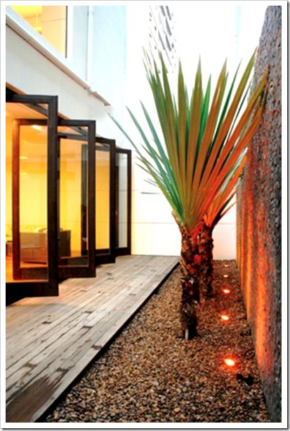 Jardim minimalista jardines para casas modernas for Casa moderna jardines