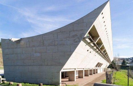 Maison de la Culture by Le Corbusier, is a cultural centre in ...