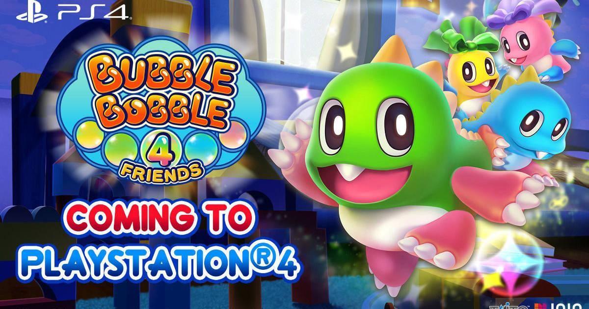 Bubble Bobble 4 Friends Llegara A Ps4 Este Ano Con Novedades In 2020 Bubble Bobble Bubbles Bobble