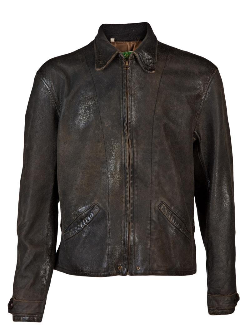 Levi S Vintage Clothing 1930s Leather Jacket Farfetch Com Leather Jacket Leather Jacket Men Vintage Leather Jacket