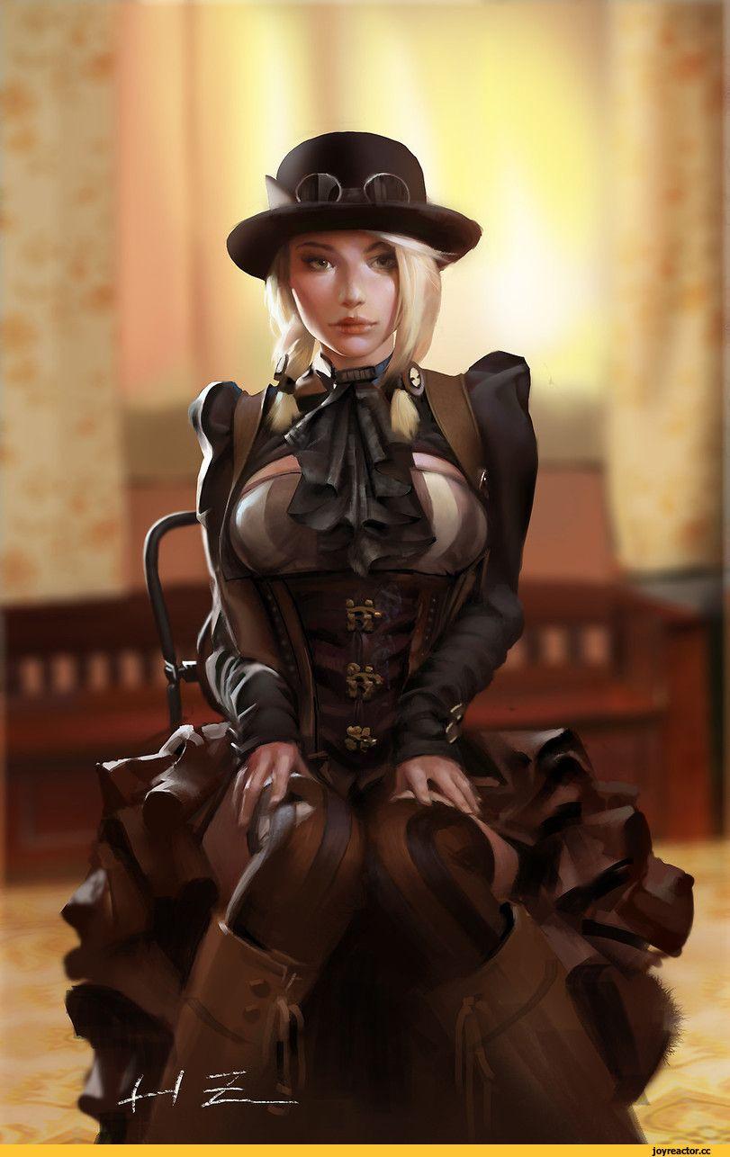 арт девушка,красивые картинки,Steampunk,стимпанк, паропанк ...