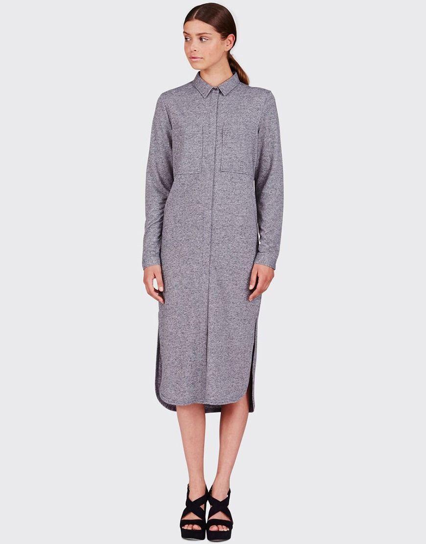 Jurk Grey Online Shop nl Blouse Dress brothersjeans Voor Koop Op A54LRj
