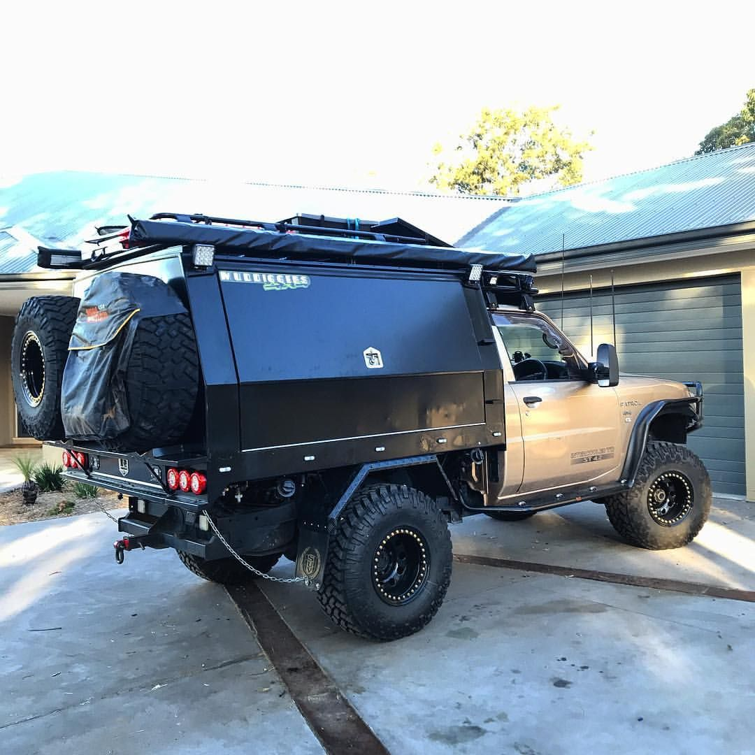 And Shes Done Huge Two Weeks Fitting Needy Out And Now Finally Off For The Big Lap Huge Shoutout To My Girlfriend Millaa Ute Canopy Truck Canopy Ute Trays