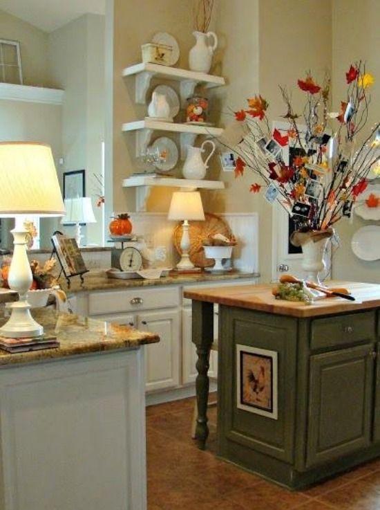 selbst machen ideen für herbst dekoration küchen interieur, Möbel