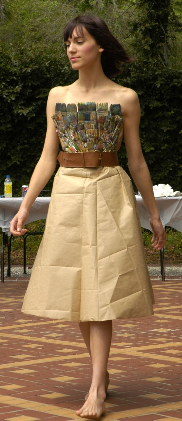 To acquire Art to recycled wear fashion show pictures trends