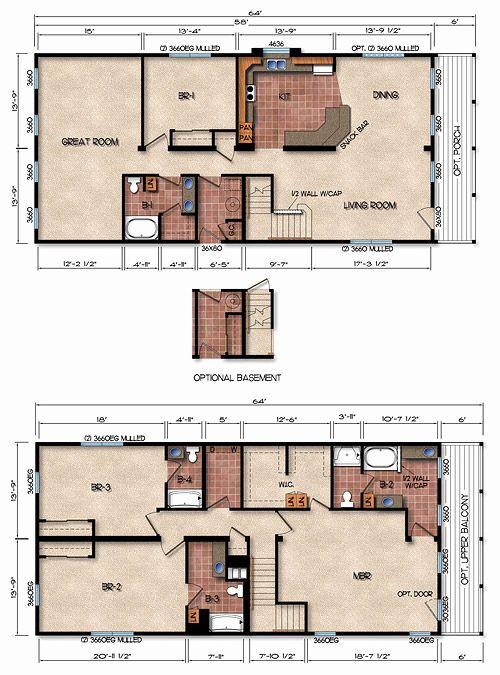4 bedroom metal house plans in 2020  metal house plans
