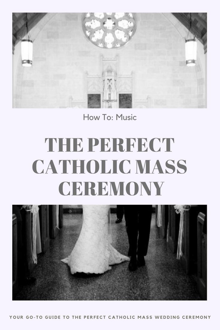 Catholic Mass Wedding Ceremony Wedding ceremony music