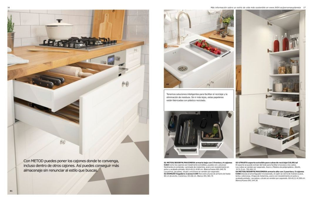 CATÁLOGO COCINAS 2017 Cocina Abierta Pinterest Brochures - ikea küche katalog