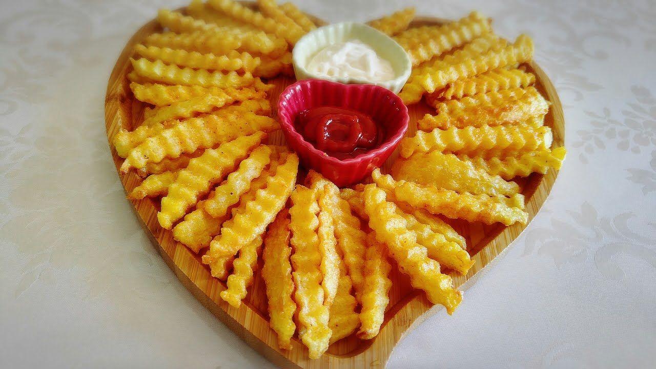 البطاطا المقلية المقرمشة على طريقة المطاعم My Favorite Food Favorite Recipes Food