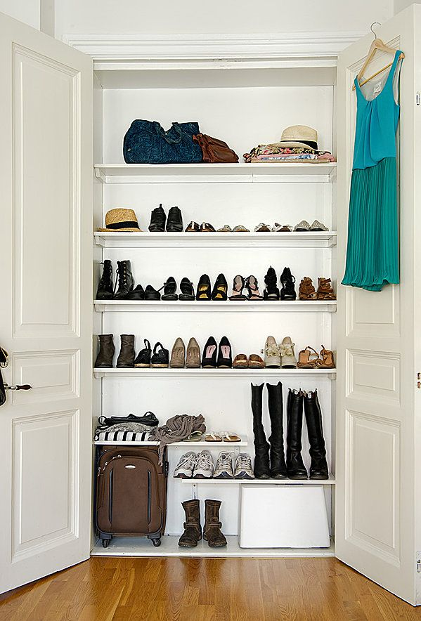 id e de rangement pour chaussures shoes closet. Black Bedroom Furniture Sets. Home Design Ideas