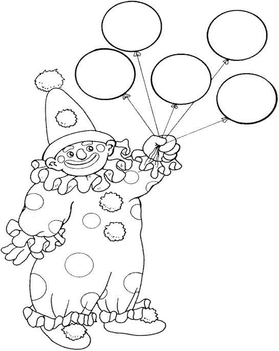 Circus Kleurplaten 6 | Kleurplaat - Kleurplaten voor kinderen ...