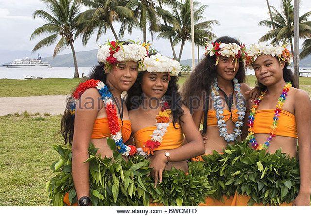Fiji Kioa Island People Kioa Stock Photos Fiji Kioa Island