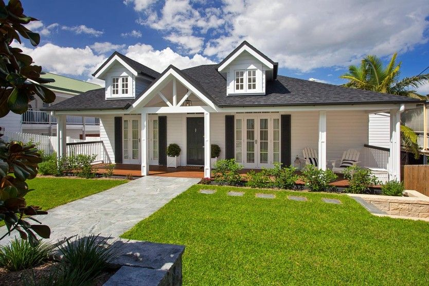 Hampton style house plans australia