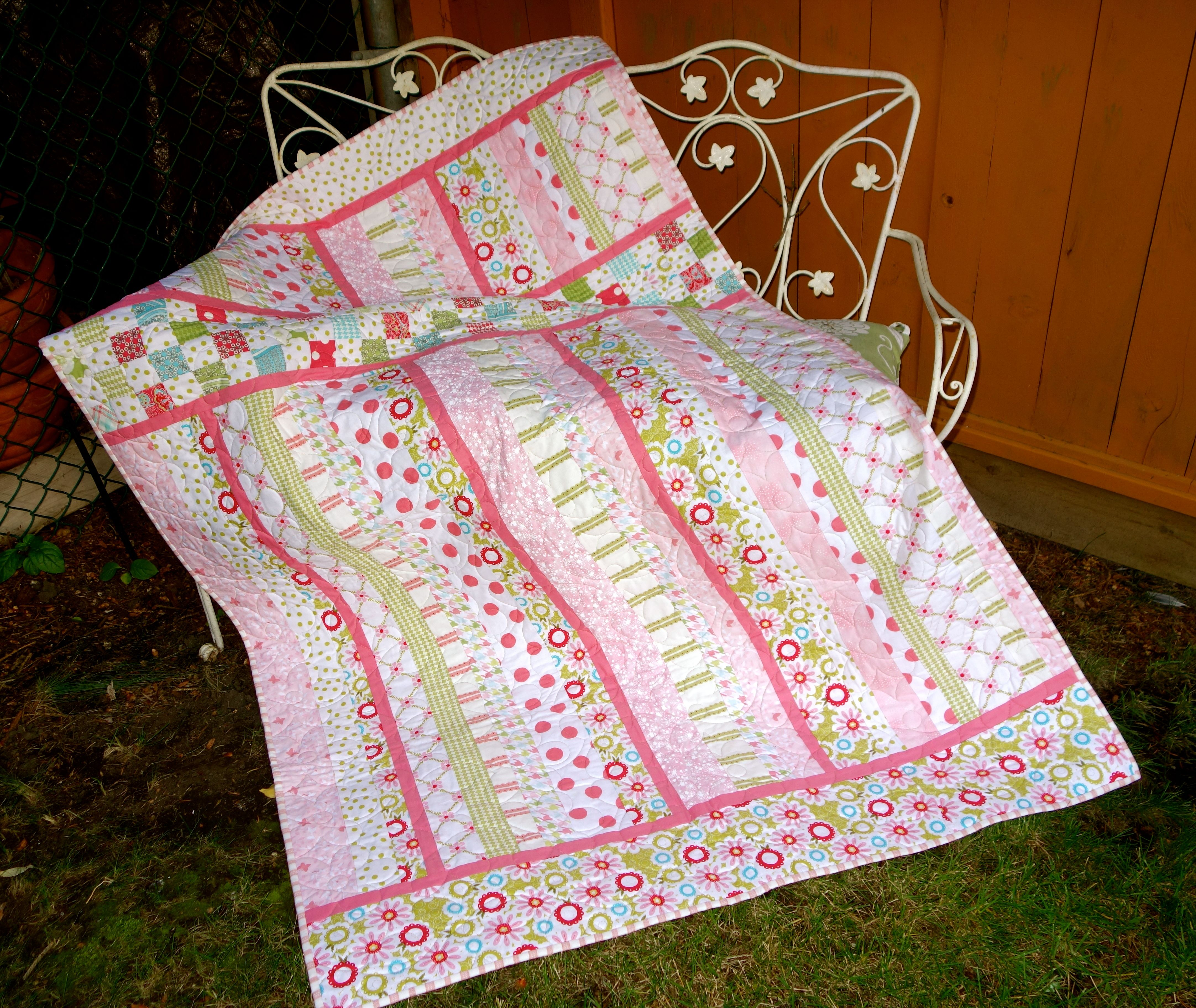 in for middle quilt the doris pin quilts nines rolls is roll rice jelly by