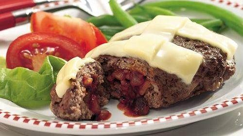 personal pizza stuffed grilled meat loaves