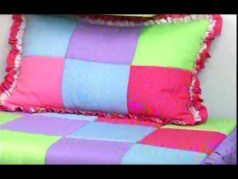 Edredon de parches de Sonia Franco. 1/5   YouTube | edredon con