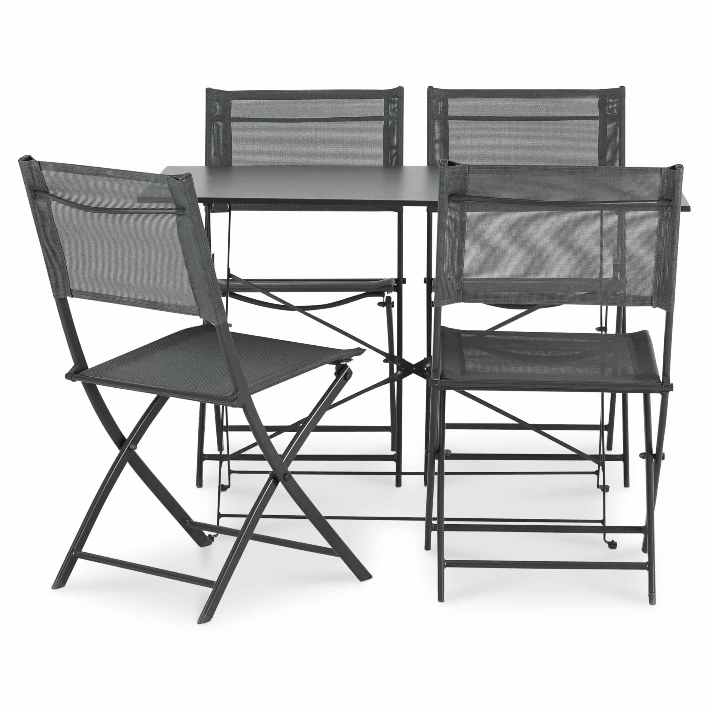 Saba Metal 4 Seater Bistro Set B&Q for all your home and