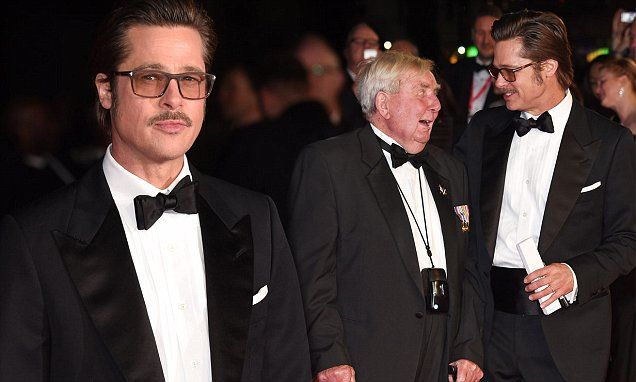 Red carpet treatment for D-Day hero, 91, at première of Fury