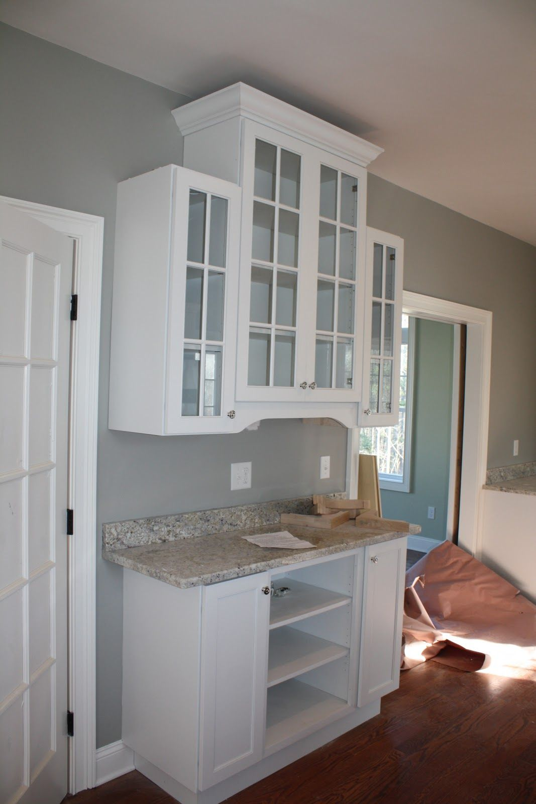 Best Kitchen Gallery: Sea Haze Paint Color Dining Room Bar Ideas For The Home of Benjamin Moore Sea Haze Kitchen Cabinets on rachelxblog.com