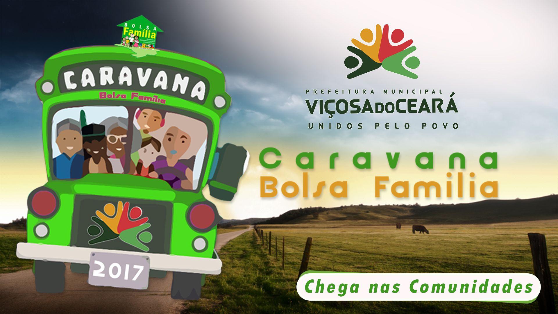 CARAVANA DO BOLSA FAMÍLIA CHEGA NAS COMUNIDADES