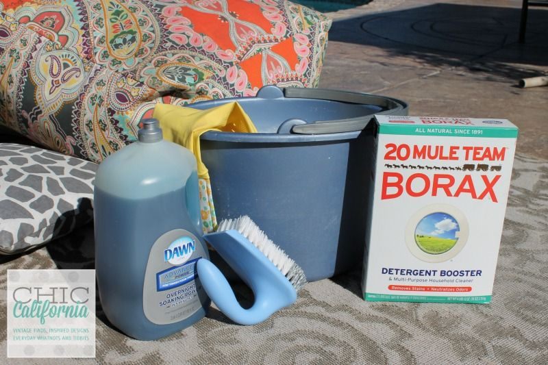 How To Clean Your Outdoor Furniture Cushions Adrienne Elizabeth