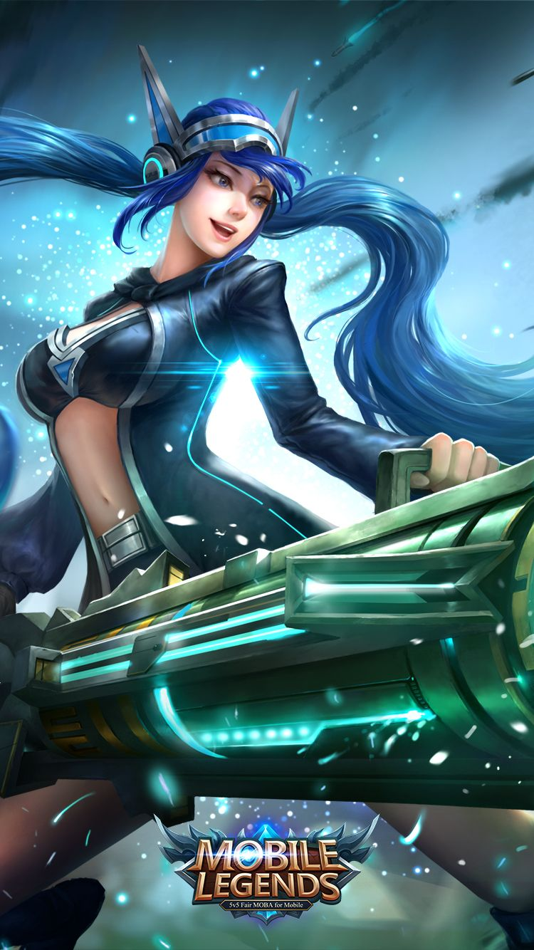 Wallpaper Mobile Legends 80 HD Resolution Anime gadis