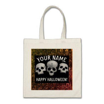 BUDGET Tote Bag PERSONAL TRICK OR TREAT BAG