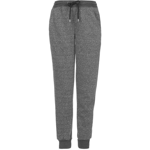 Topshop Neppy Maternity Jogger Pants (170 BRL) ❤ liked on Polyvore featuring maternity, pants, bottoms, pantalones and grey