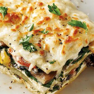 White Vegetarian Lasagna Vegetable Lasagna Recipes Veggie Lasagna Recipe Cooking Recipes