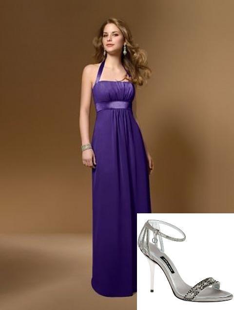 Vestidos fiesta violeta