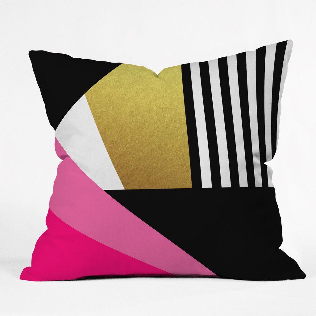 Elisabeth fredriksson sweet and glamorous outdoor throw pillow