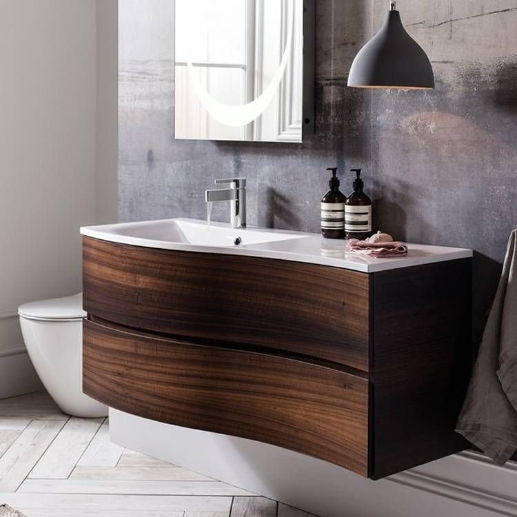 Bauhaus Svelte 120 Eucalyptus Vanity Unit \ Basin Bathroom - badezimmer bauhaus
