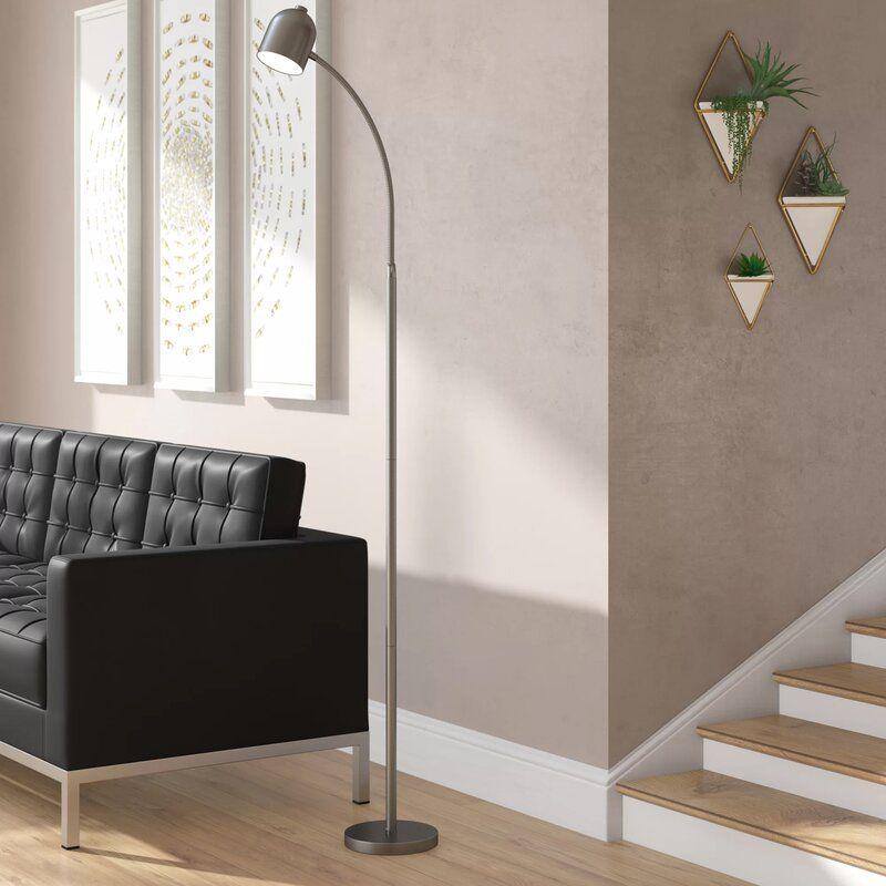 """Sam 53"""" LED Task/Reading Floor Lamp in 2020 Floor lamp"""