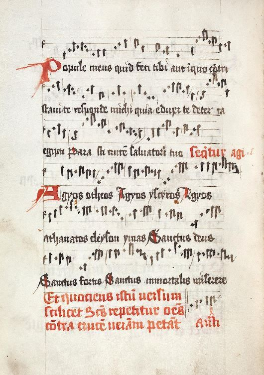 Rituale Konstanz, um 1500 Cod. Sal. IX,17b  Folio 16v