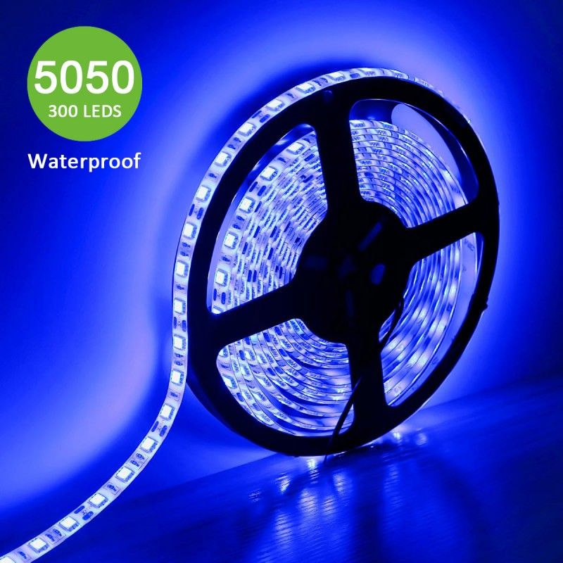 12v Flexible Waterproof Led Strip Lights Blue Led Tapes Waterproof Led Black Light Led Led Strip Lighting