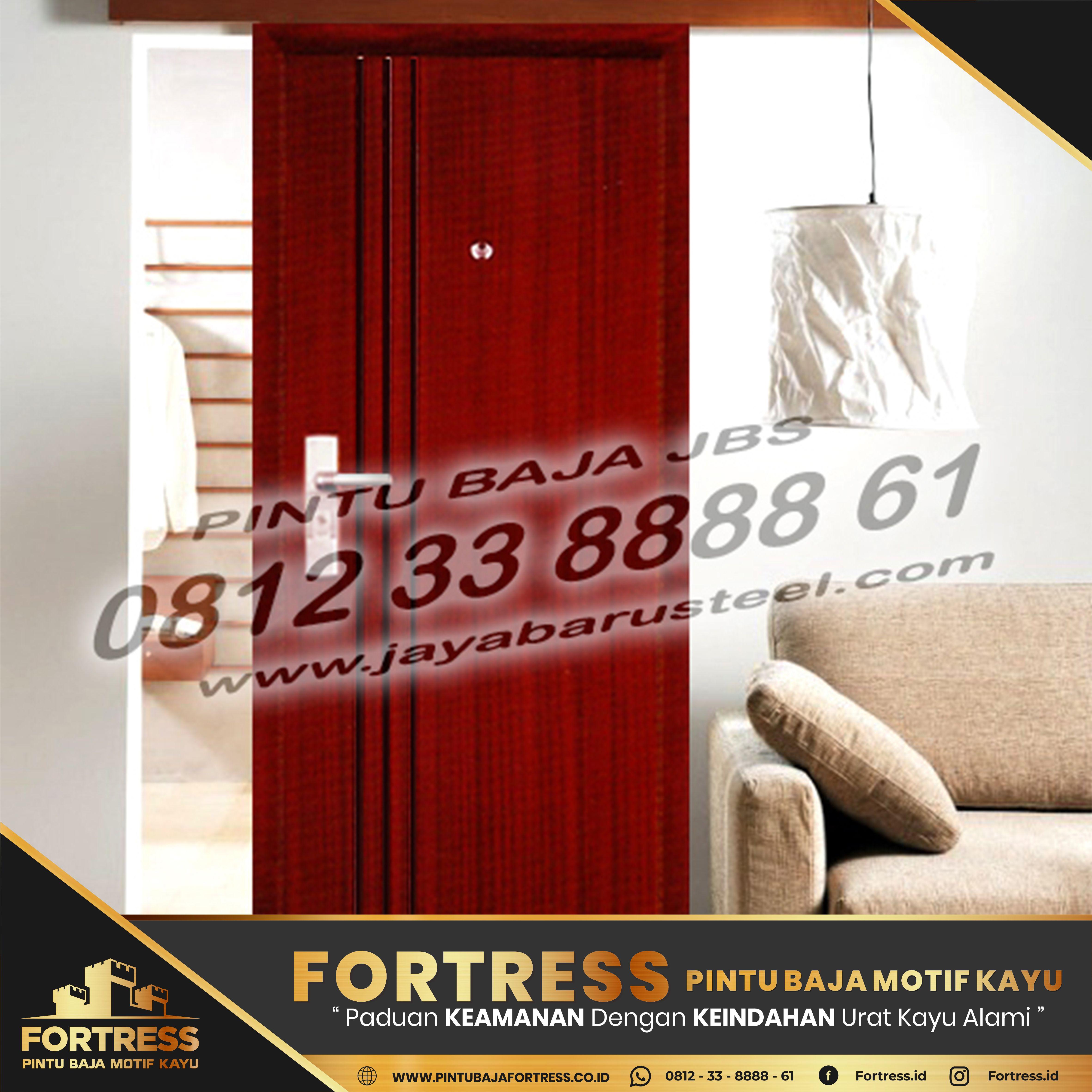 0812-91-6261-07 (FORTRESS) Pekan Baru Steel Door Company