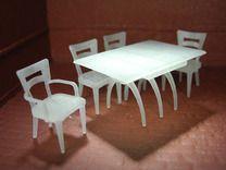 1:48 Moderne Dining Set