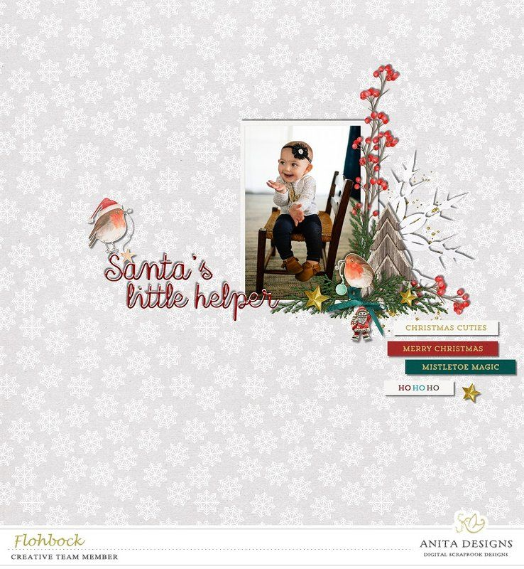 Mistletoe Magic   by designs by anita at The Digital Press  Photo by demandaj   http://shop.thedigitalpress.co/Mistletoe-Magic-Elements.html