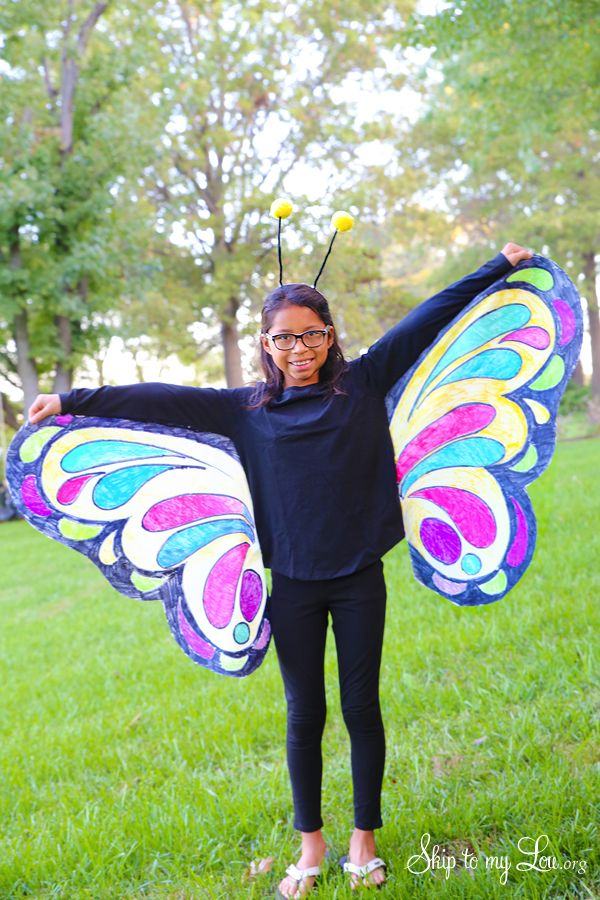 DIY butterfly costume by MichaelsMakers Skip to