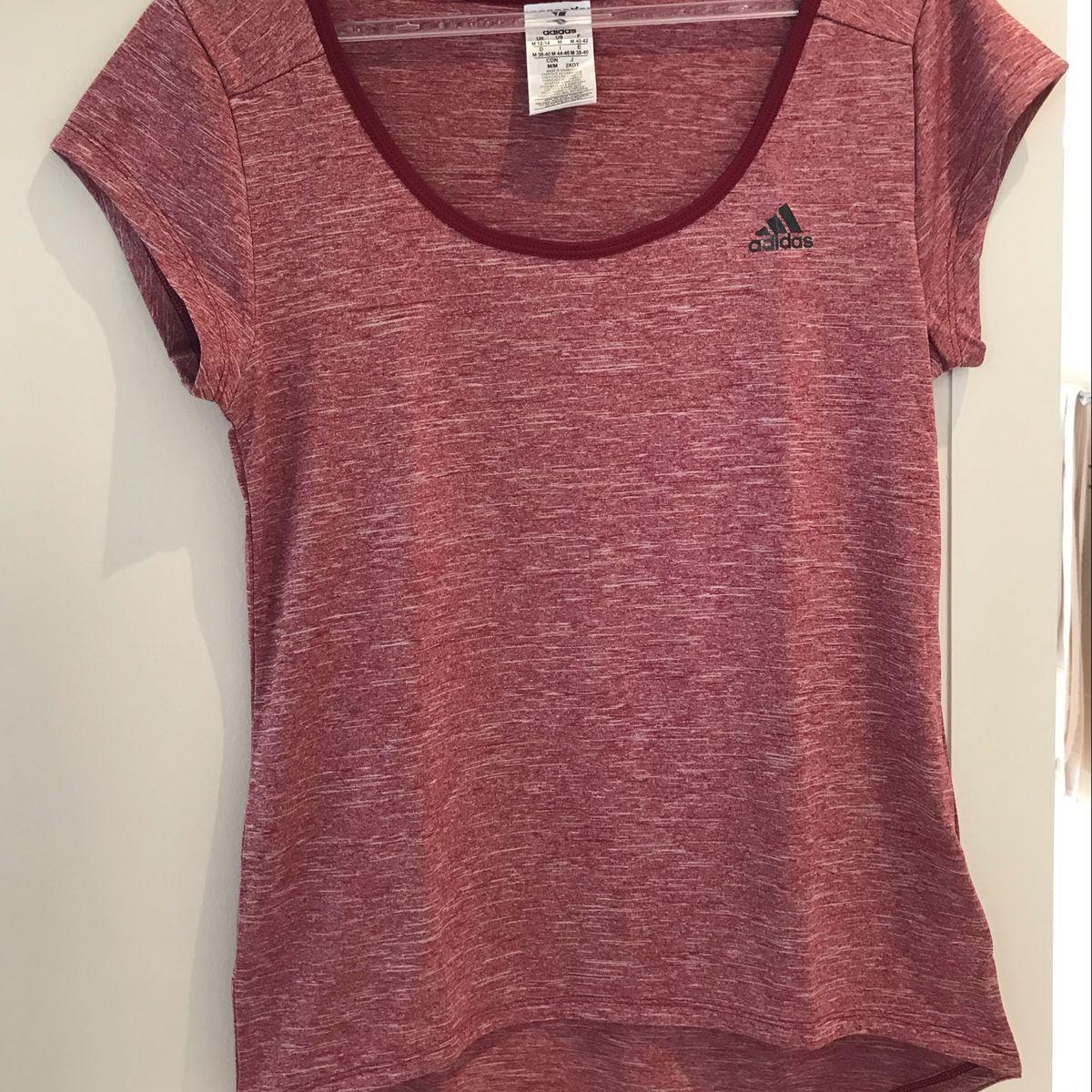 blusa adidas vermelha blusas adidas   Blusa adidas, Adidas