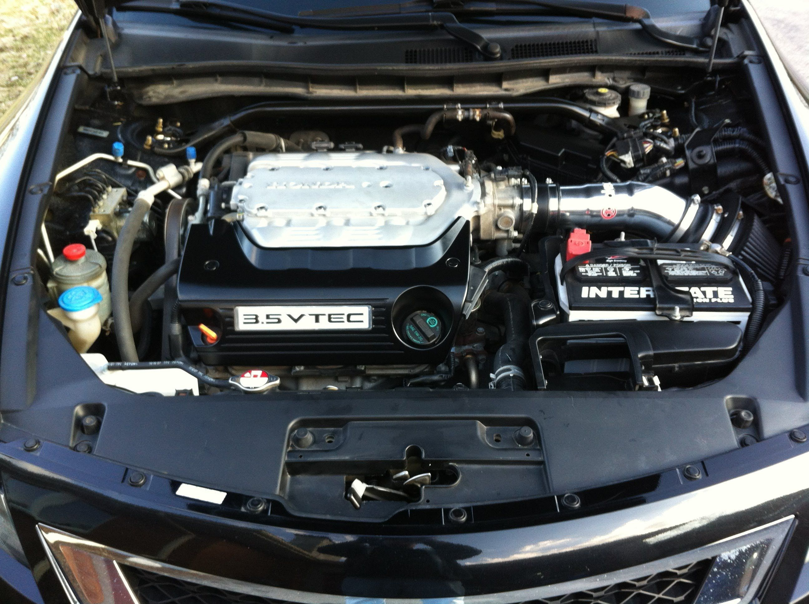 2008 Honda Accord V6 | Takeda Short Ram Intake before and after install