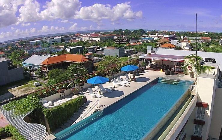 daftar hotel murah di kuta bali dari traveloka travel things rh pinterest com
