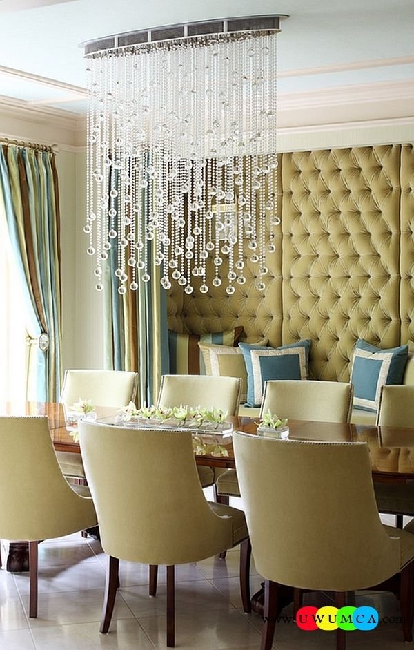 DecorationDecorating Cascading Crystal Chandeliers Bubble Capiz Cascade