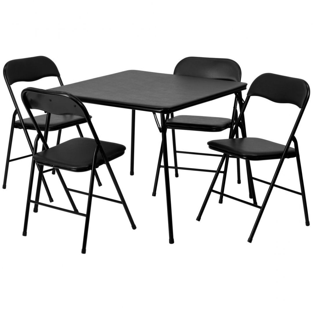 Fantastic 5 Piece Folding Table And Chair