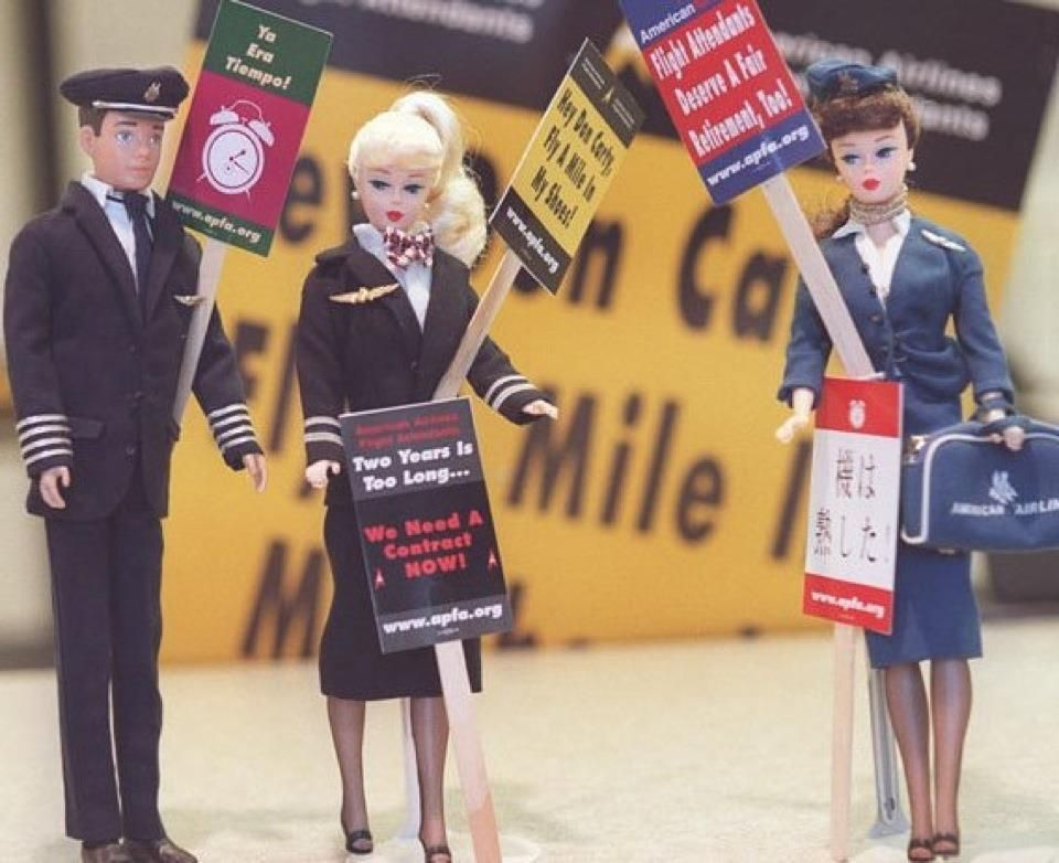 cover letter flight attendant%0A Even flight attendant Barbie knows when to fight for her rights  haha