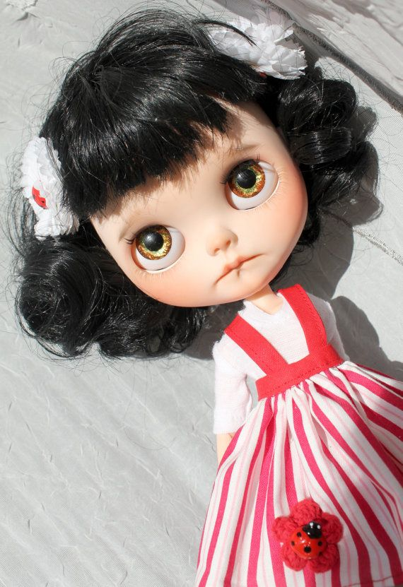 Berunka OOAK Custom Blythe Doll by Meadowdoll por meadowdolls