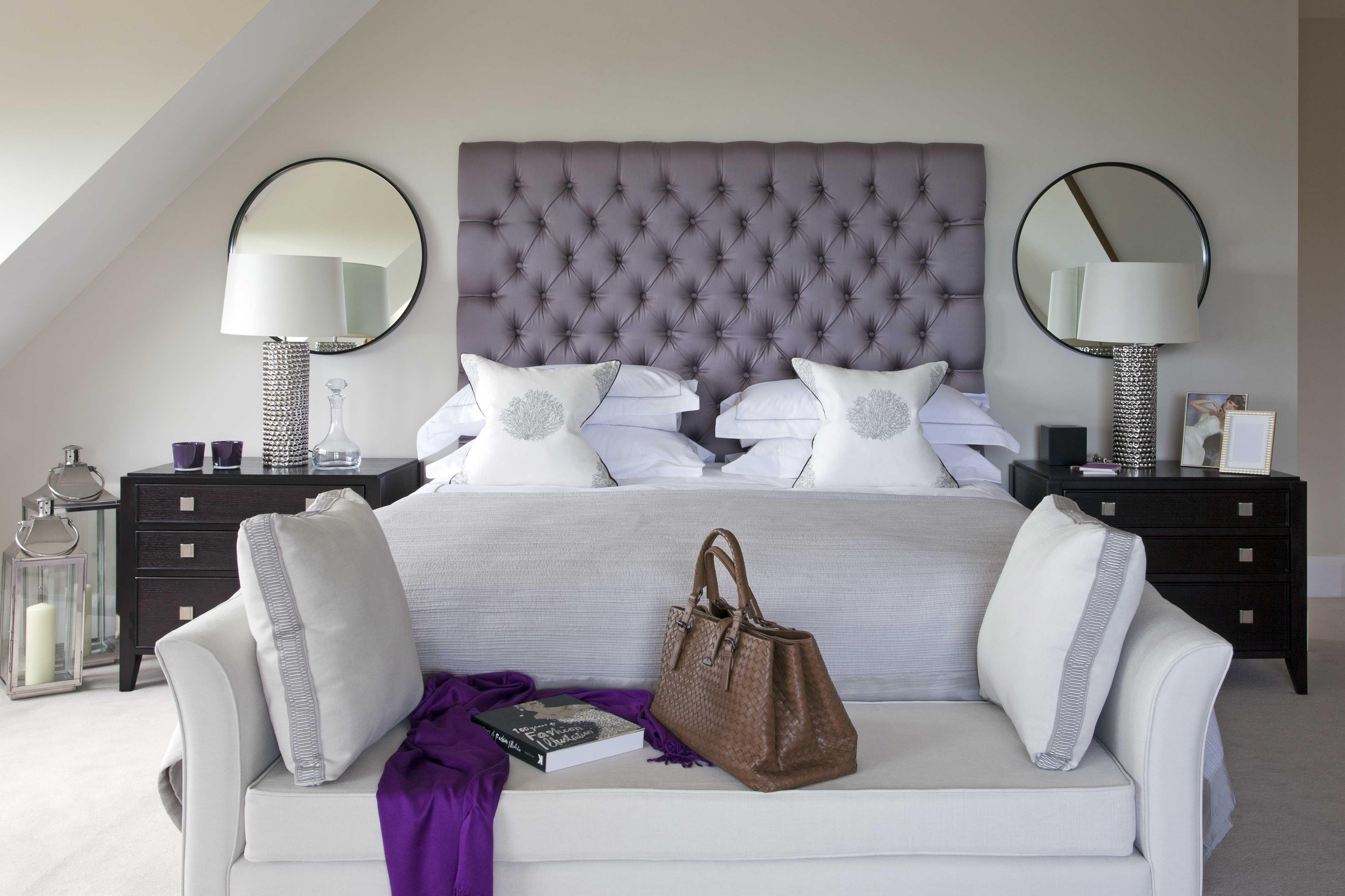 Luxury Master Bedroom Interior Design Bold Deep